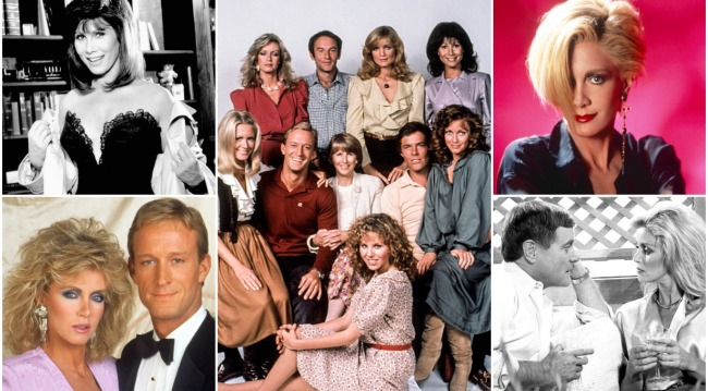 knots landing collage