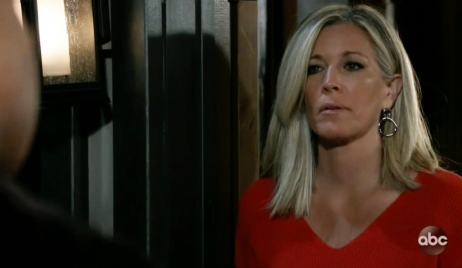 Carly gets a visit from the cops on GH