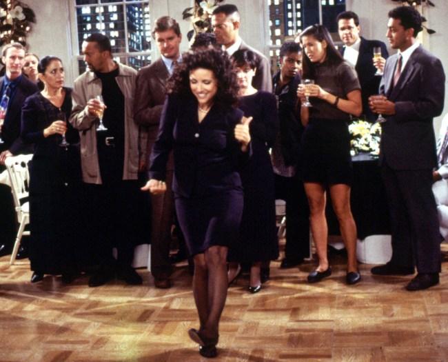 SEINFELD, Julia Louis-Dreyfus, Season 8, Ep. 'The Little Kicks', 1990 - 1998. (c) Columbia TriStar Television/ Courtesy: Everett Collection.