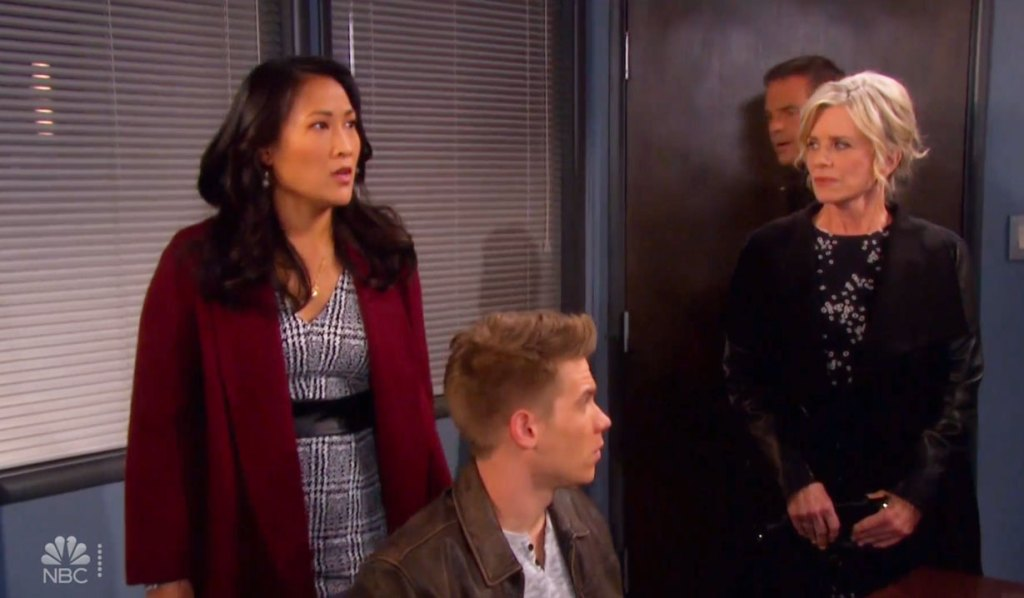 Trask is stunned to see Ava on Days
