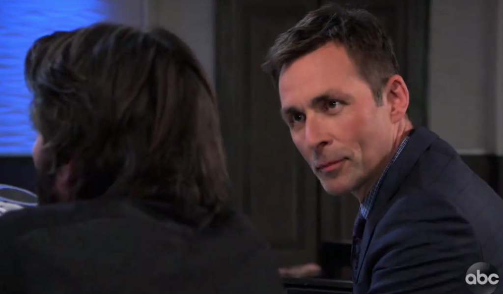 Valentin worried about Dante on General Hospital