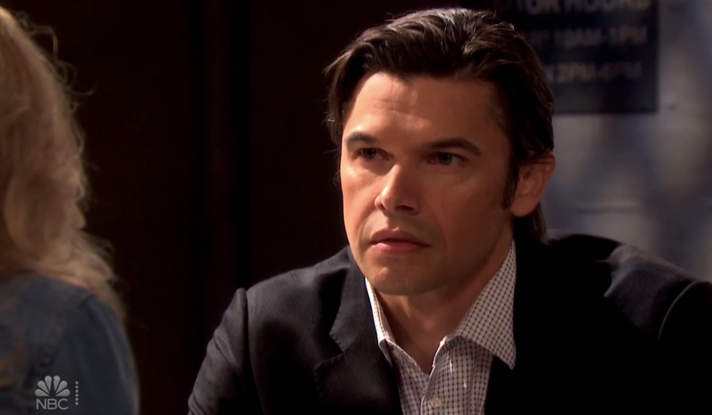 Xander meets with Kristen in prison on Days of Our Lives