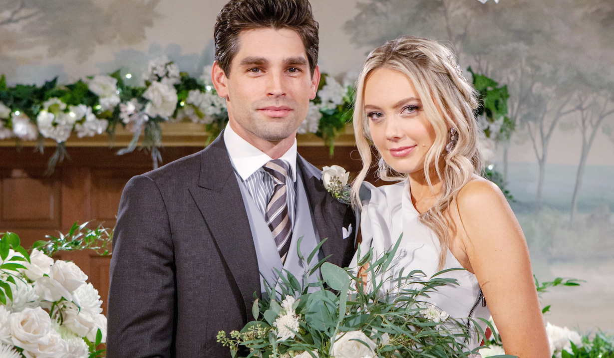 "Melissa Ordway, Justin Gaston""The Young and the Restless"" Set WeddingCBS television CityLos Angeles11/05/20© Howard Wise/jpistudios.com310-657-9661"