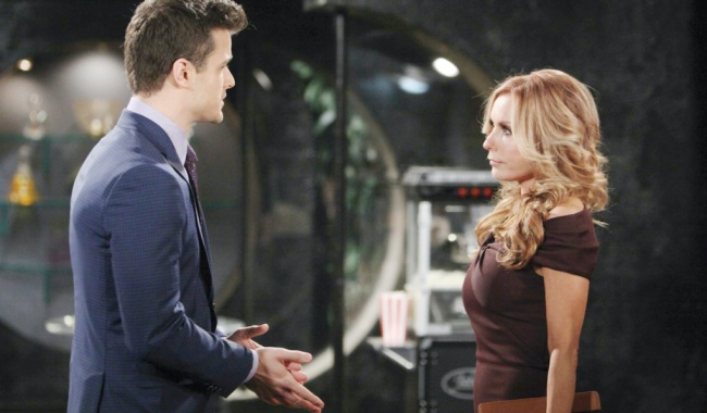 """yr kyle lauren Michael Mealor, Tracey Bregman""""The Young and the Restless"""" Set CBS television CityLos Angeles12/19/18© Howard Wise/jpistudios.com310-657-9661Episode # 11614U.S. Airdate 01/31/19"""
