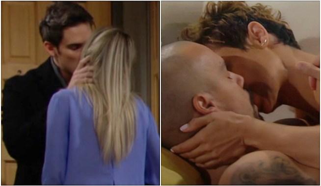 Adam, Sharon, Devon, Elena dreams Y&R