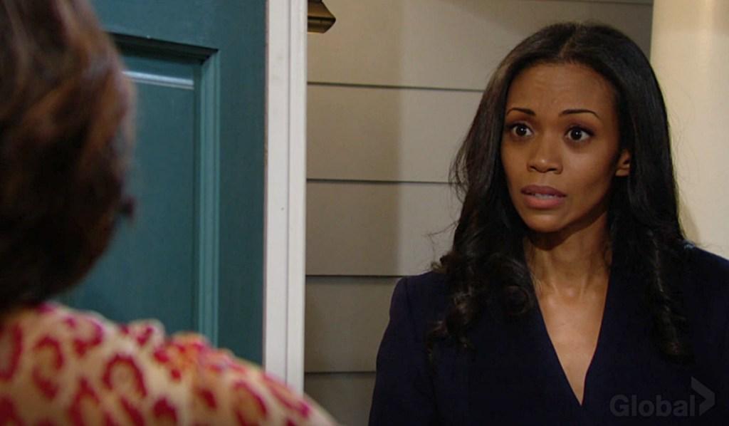 Amanda confront Naya Y&R