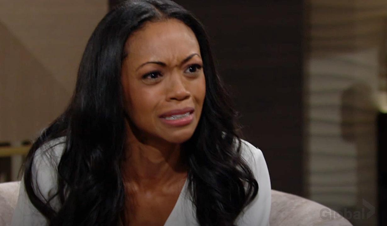 Amanda devastated Y&R