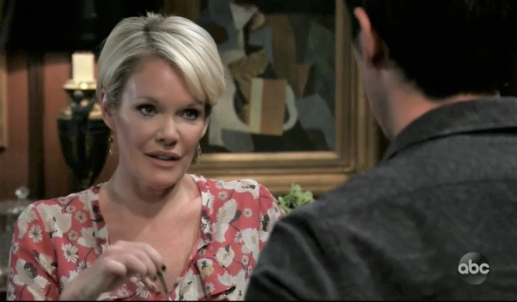 Ava and Nikolas discuss Avery at Wyndemere General Hospital