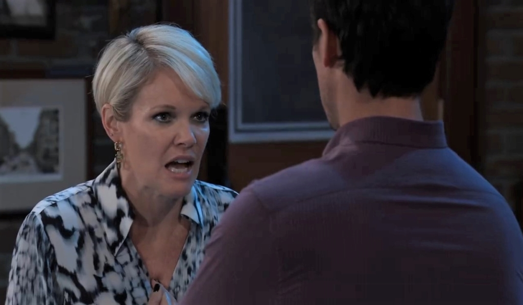 Ava vents to Nikolas about Julian at Charlie's General Hospital