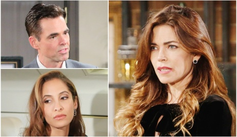 Billy, Lily, Victoria love triangle Y&R
