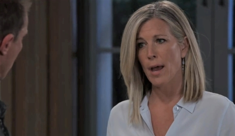 Carly tells Jason she took Florence at Corinthos compound General Hospital