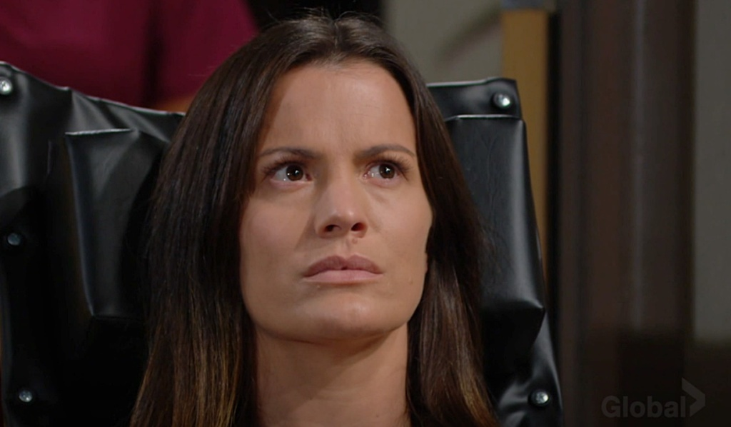 Chelsea agitated Y&R