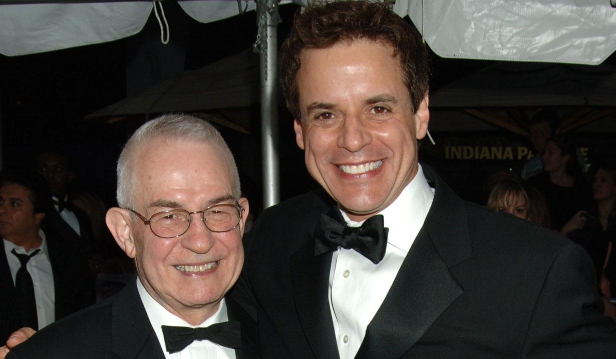 Christian LeBlanc and his dad