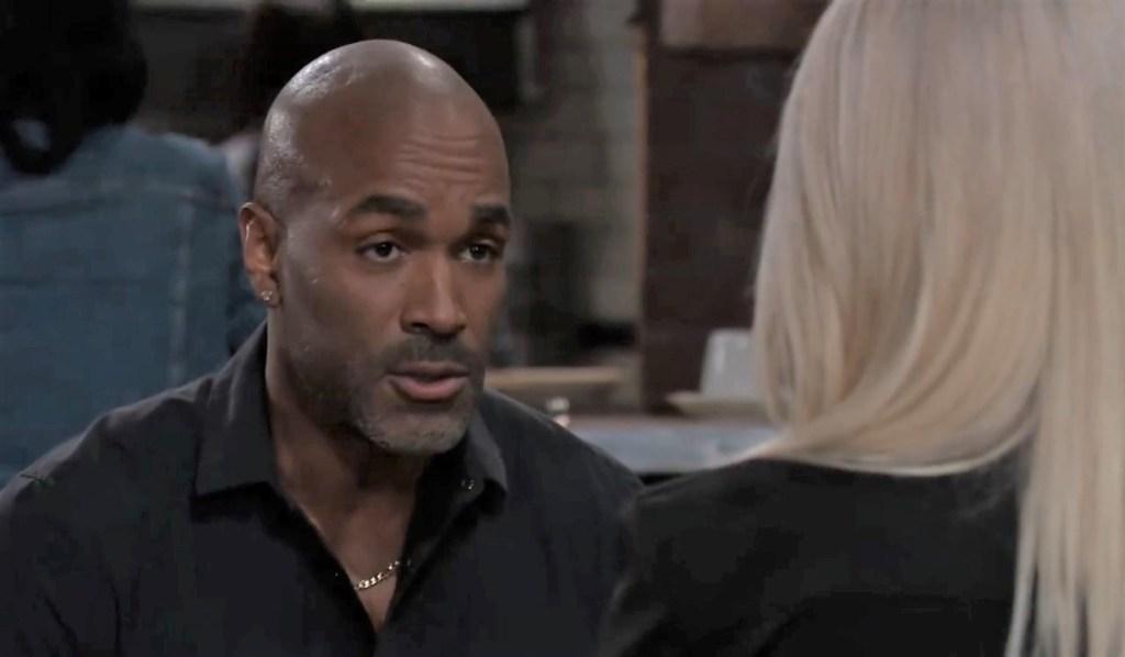 Curtis and Nina talk Jax at Kelly's General Hospital