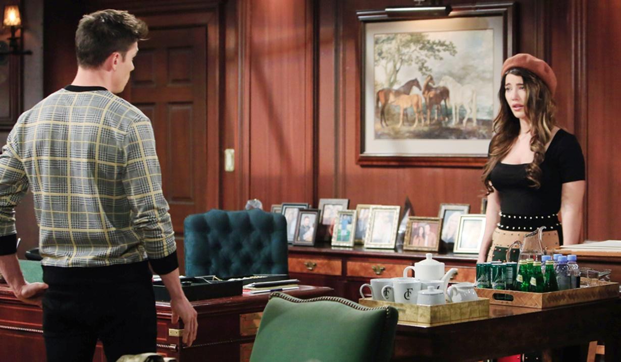 Finn, Steffy office B&B