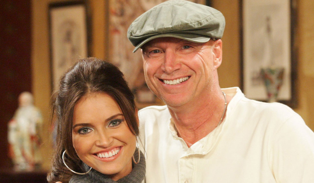 Heidi Mueller and her dad Passions