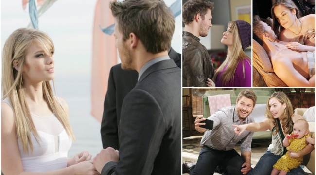 Hope, Liam love story collage B&B