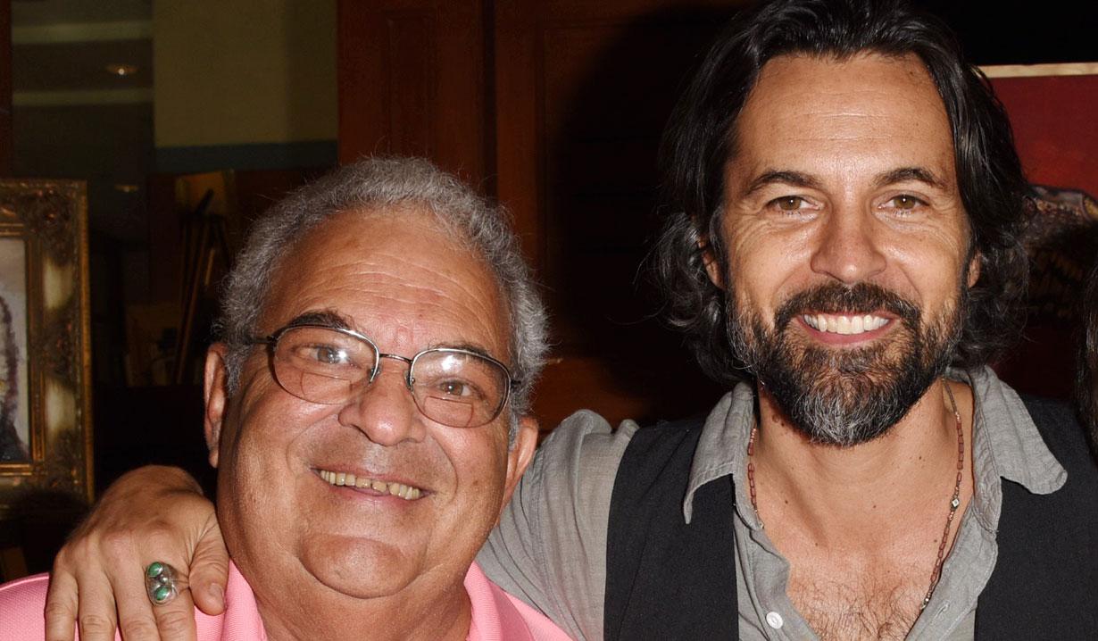 Jeffery Vincent Parise and his dad GH