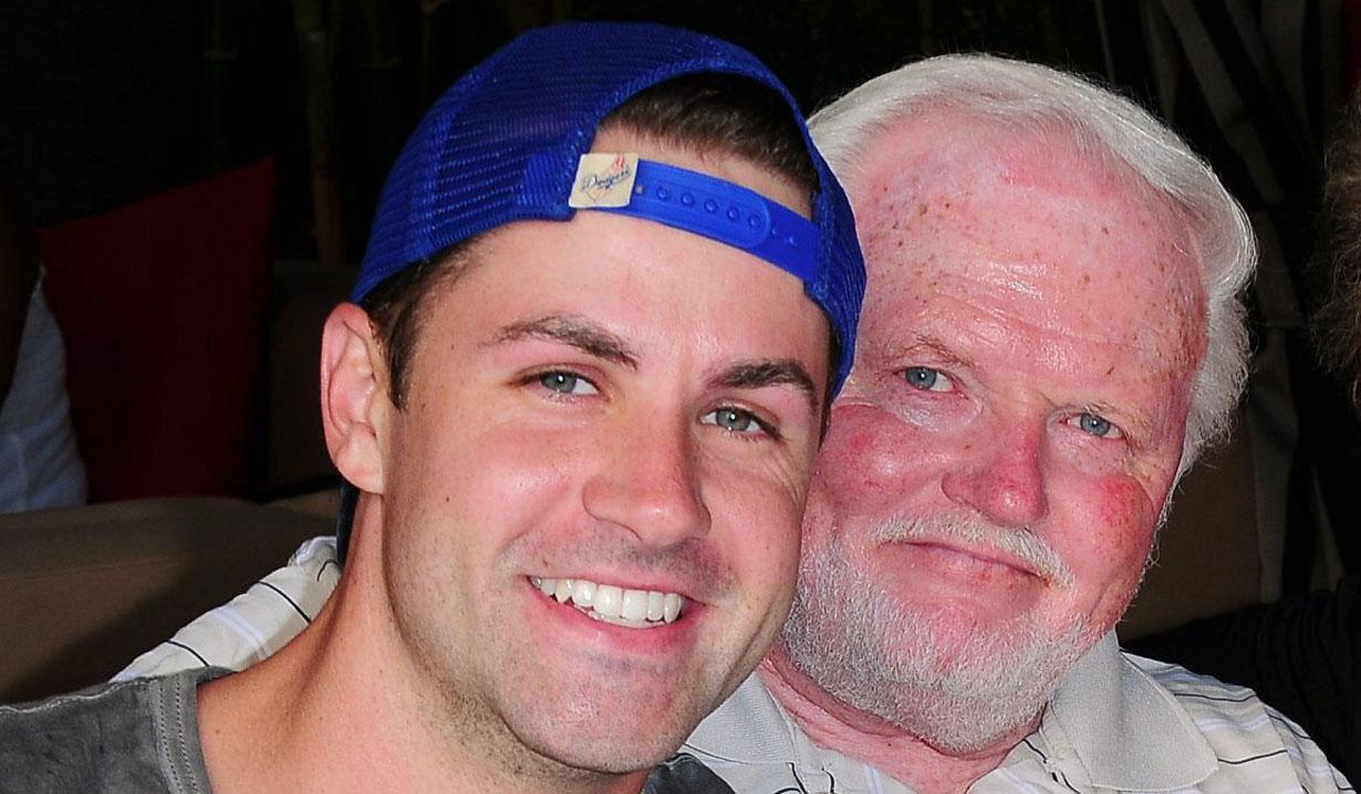 John Driscoll and his dad Y&R