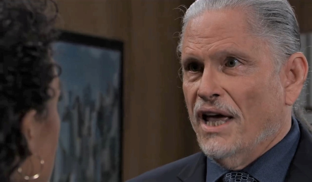 Cyrus panics to Jordan about his mom at PCPD General Hospital