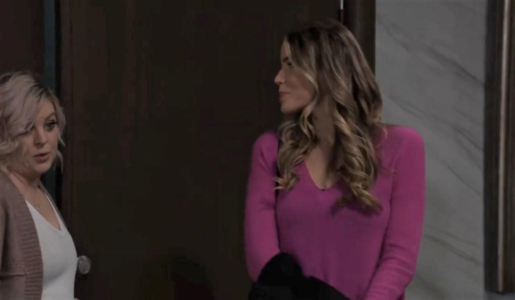 Sasha and Maxie have a pitch for Nina at Crimson General Hospital