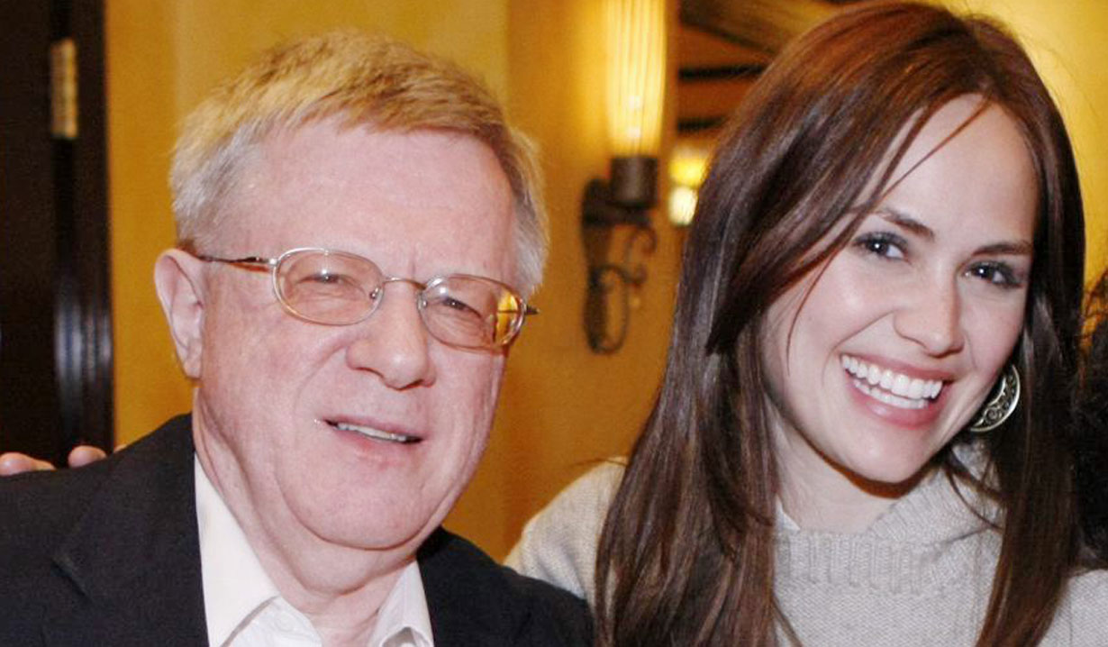 Natalia Livingston and her dad GH