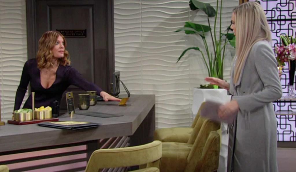 Phyllis key Abby Y&R