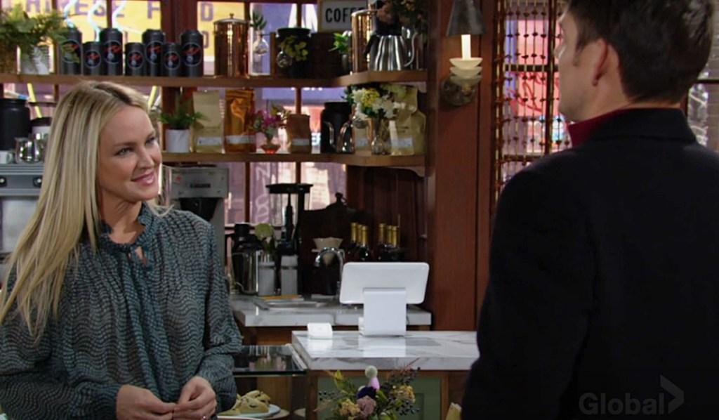Sharon, Adam thanks Y&R