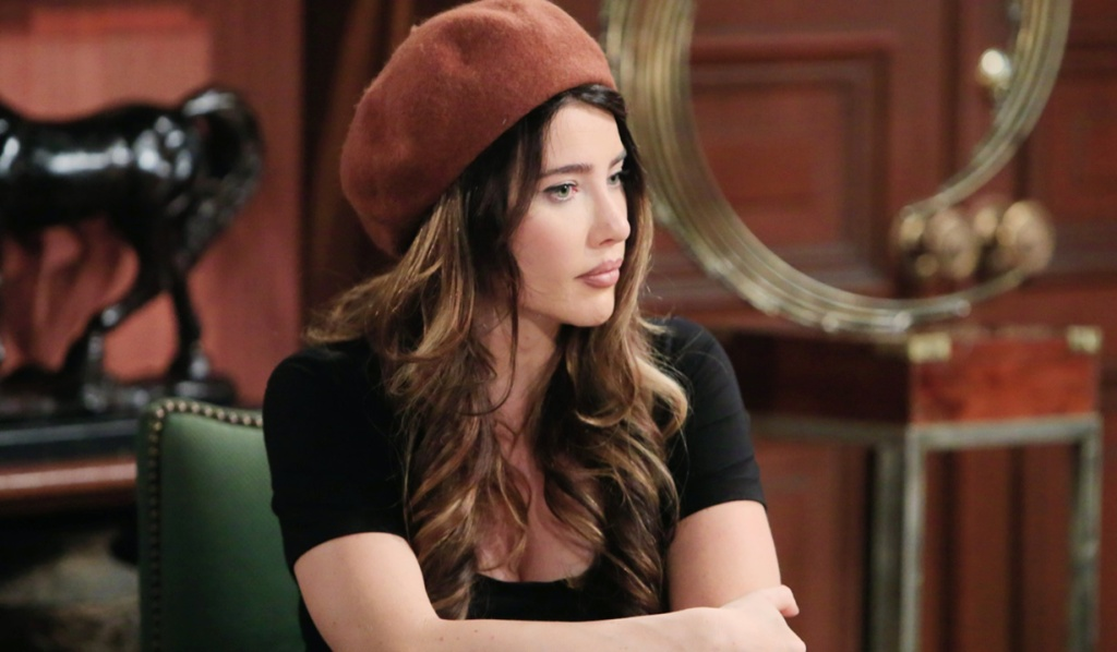 Steffy distracted B&B