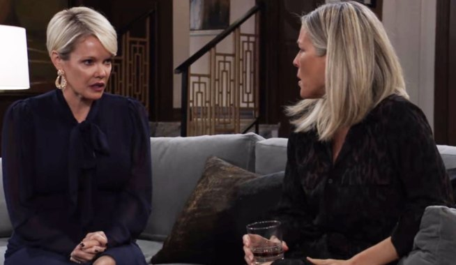 ava warns carly to address the issue GH