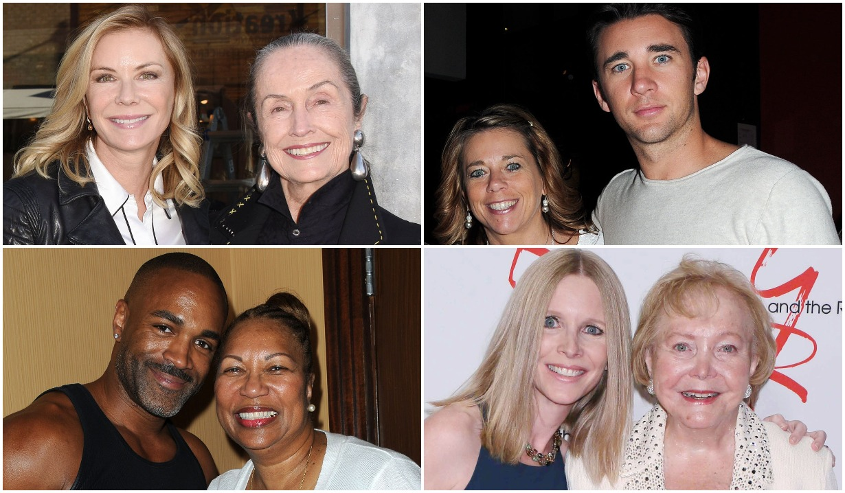 B&B, Days, GH, Y&R stars and their moms