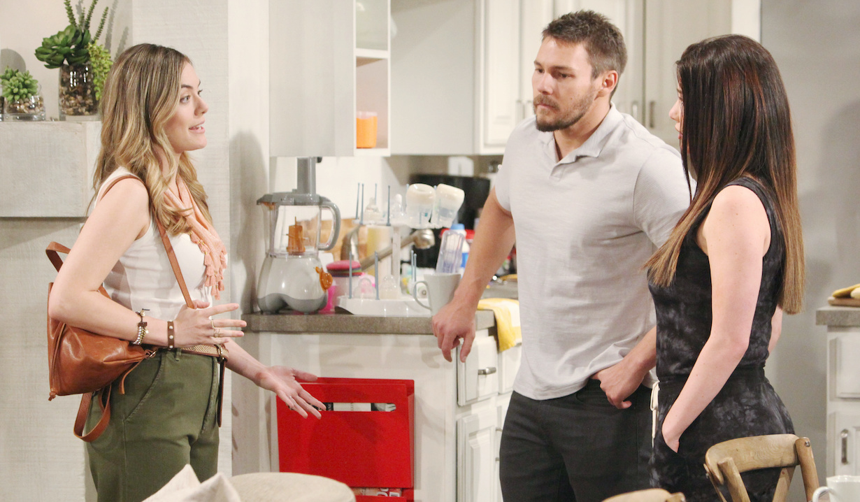 "Scott Clifton, Jacqueline MacInnes Wood, Annika Noelle ""The Bold and the Beautiful"" liam steffy hope hw"