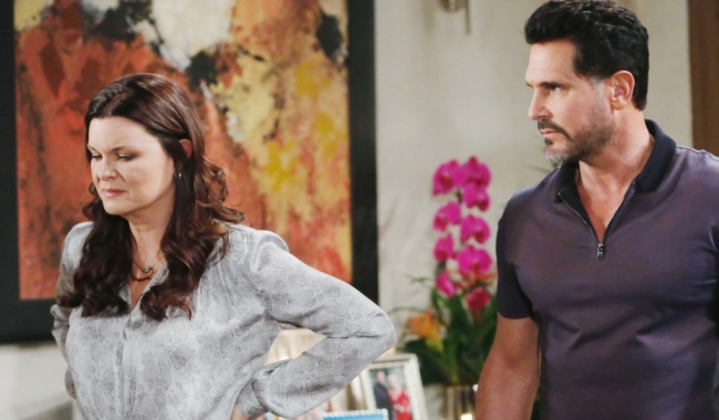 "bb katie bill Heather Tom, Don Diamont""The Bold and the Beautiful"" SetCBS Television CityLos Angeles, Ca.02/13/20© Howard Wise/jpistudios.com310-657-9661Episode # 8302U.S.Airdate 03/31/20"