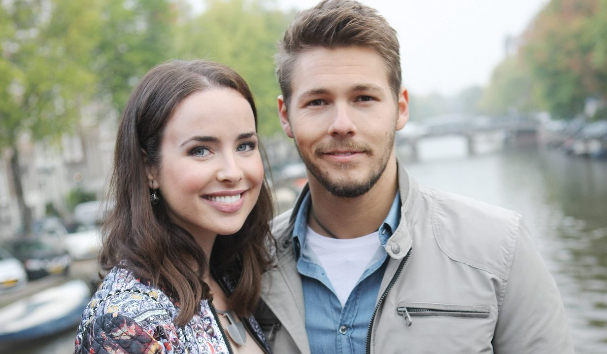 Scott Clifton, Ashleigh Brewer ivy liam bb ss