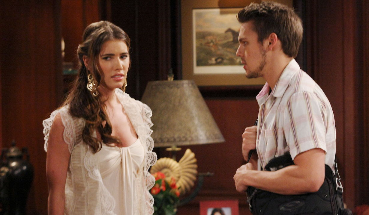 "Jacqueline MacInnes Wood, Scott Clifton ""The Bold and the Beautiful"" liam steffy ps 2010"