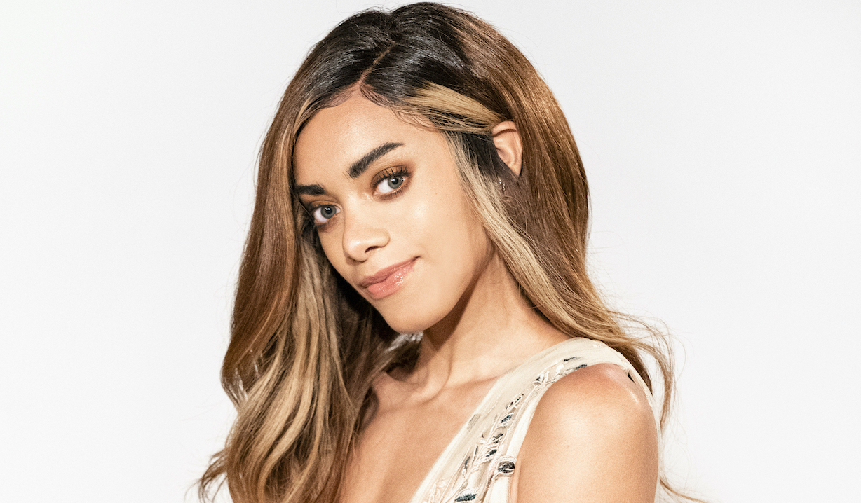 zoe Kiara Barnes of the CBS series THE BOLD AND THE BEAUTIFUL, Weekdays (1:30-2:00 PM, ET; 12:30-1:00 PM, PT) on the CBS Television Network. Photo: Photo: Sonja Flemming/CBS 2020 All Rights Reserved