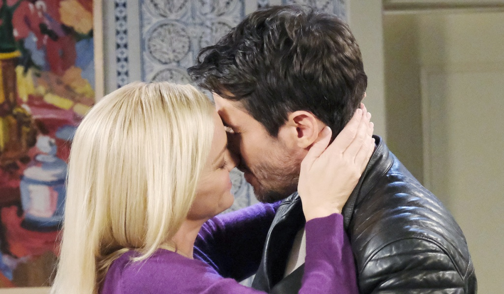 Belle and Shawn continue the honeymoon at home on Days of Our Lives