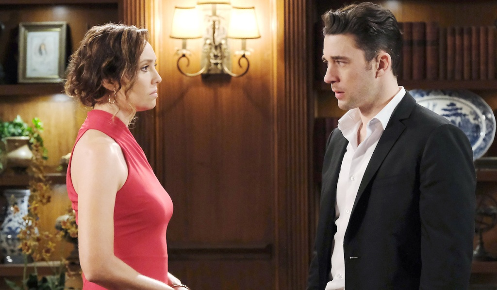 Gwen and Chad face off on Days of Our Lives