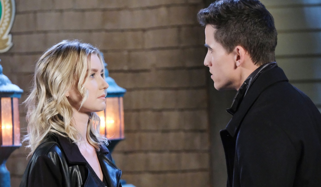 Charlie tries to convince Claire of his innocence on Days of Our Lives