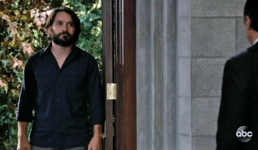 Dante returns for Mike's funeral GH