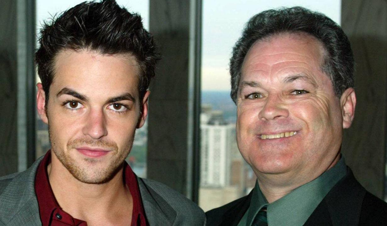 David Lago and his dad Y&R
