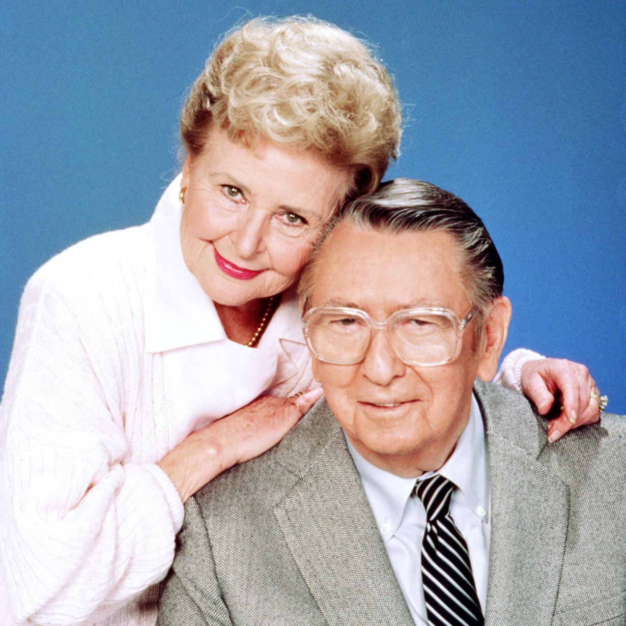 DAYS OF OUR LIVES tom alice Frances Reid, Macdonald Carey, 1965-, photo: © NBC / Courtesy: Everett Collection