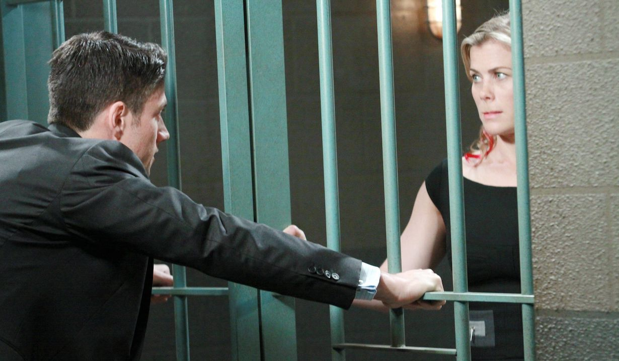 "James Scott, Alison Sweeney ""Days of our Lives"" sami ej jail ps"