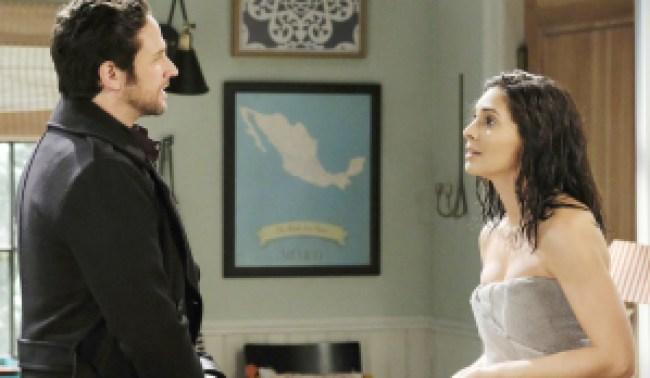"Brandon Barash, Camila Banus ""Days of our Lives"" Set NBC Studios Burbank 12/03/20 © XJJohnson/jpistudios.com 310-657-9661 Episode # 14031 U.S.Airdate 02/01/21"