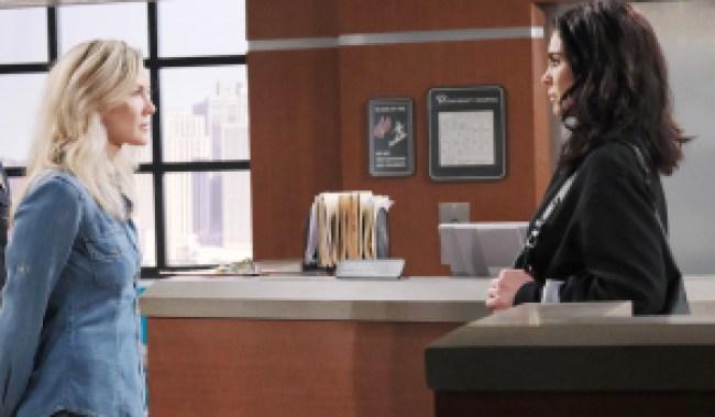 "Nadia Bjorlin, Stacy Haiduk ""Days of our Lives"" Set NBC Studios Burbank 11/02/20 © XJJohnson/jpistudios.com 310-657-9661 Episode # 14028 U.S.Airdate 01/27/21"