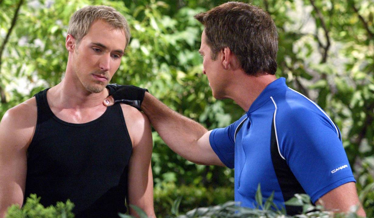 "Drake Hogestyn and Kyle Lowder ""Days of our Lives"" brady john ps"