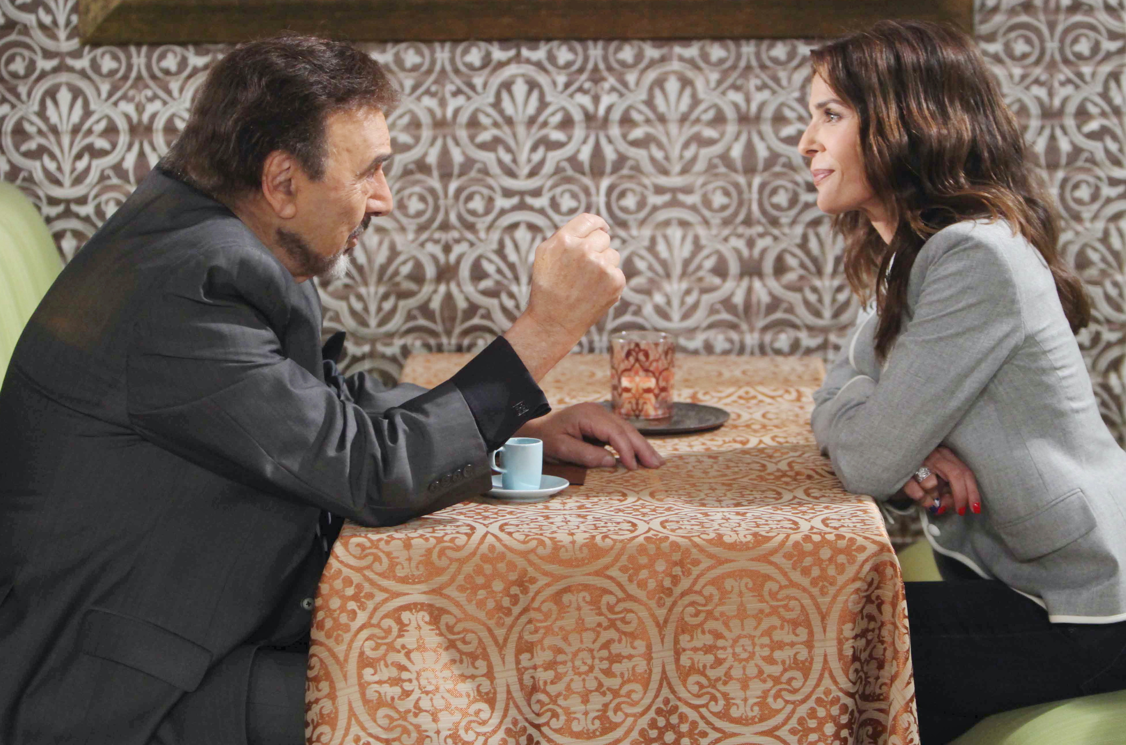 "Joe Mascolo, Kristian Alfonso""Days of our Lives"" SetNBC StudiosBurbank01/30/15© Howard Wise/jpistudios.com310-657-9661Episode # 12618U.S.Airdate 06/25/15"