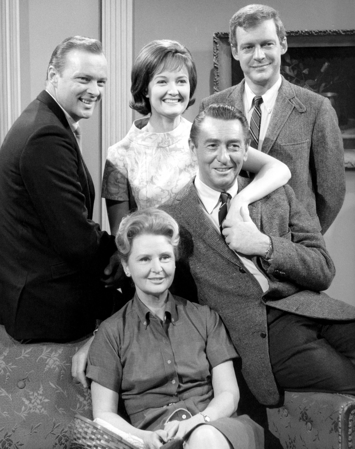 DAYS OF OUR LIVES, Macdonald Carey, Frances Reid, John Clarke, Marie Cheatham, Edward Mallory, (1960s), 1965-, (c)NBC/courtesy Everett Collection