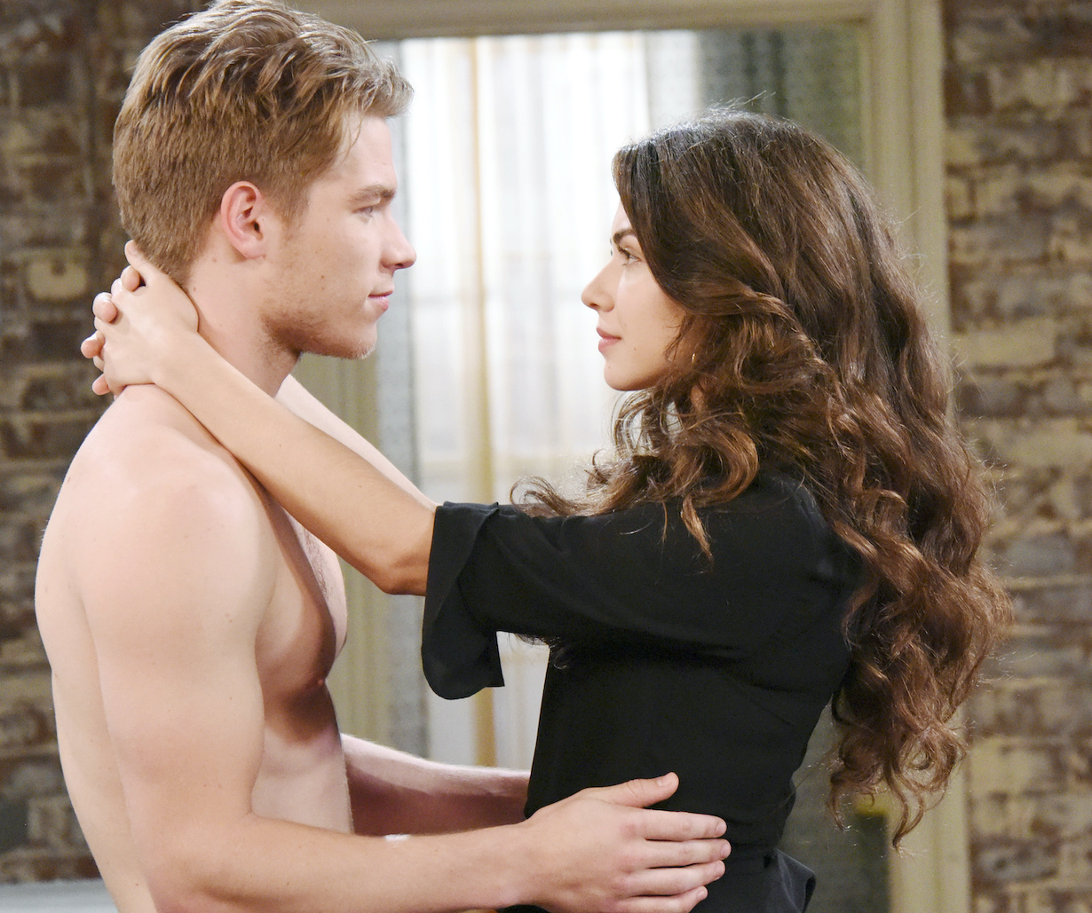 "Lucas Adams, Victoria Konefal ""Days of our Lives"" Set NBC Studios Burbank 02/14/18 © XJJohnson/jpistudios.com 310-657-9661 Episode # 13399 U.S.Airdate 08/7/18"