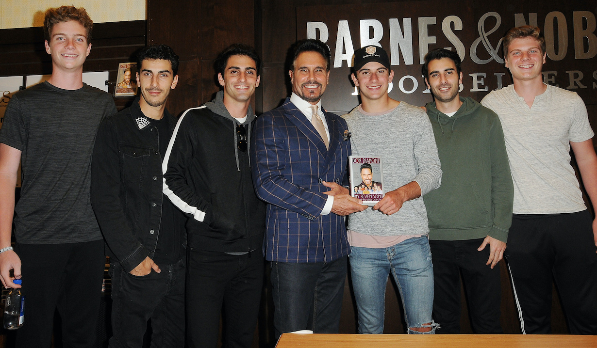 "Don Diamont, sons at the Don Diamont Book Signing for ""My Seven Sons and How We Raised Each Other"" at Barnes & Noble at The Grove Los Angeles in Los Angeles, CA on June 4, 2018?6/4/18 ?© Jill Johnson/jpistudios.com?310-657-9661"